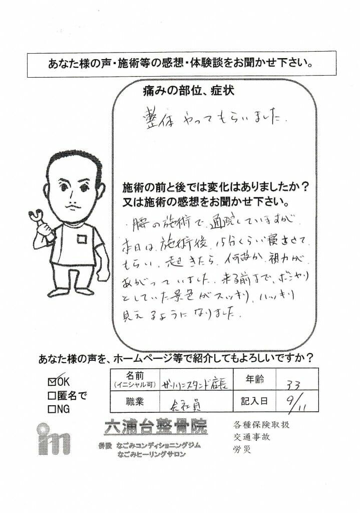 2015.09.11店長腰痛